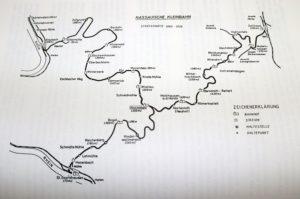 Nassauische Kleinbahn fährt zwischen Nastätten und Holzhausen
