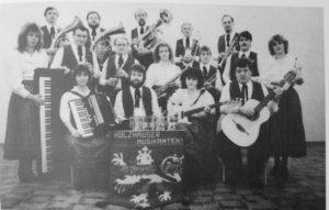 Gründung der Holzhäuser Musikanten