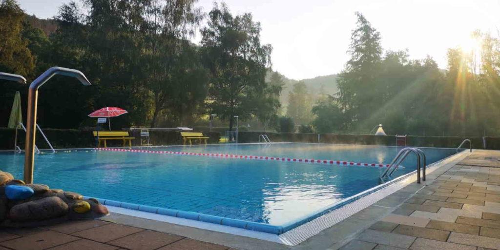 Waldschwimmbad Holzhausen an der Haide