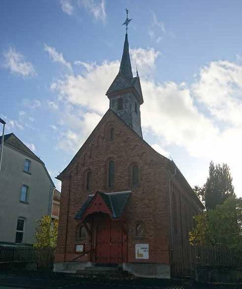 katholische Kirche der Pfarrei Herz-Jesu Holzhausen